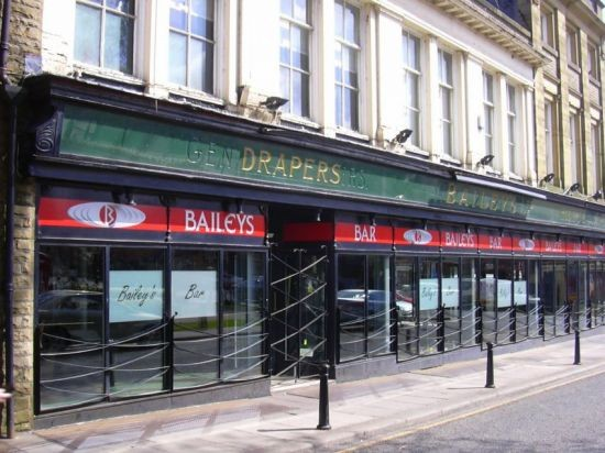 """Baileys Bar"" (Pub) 16-18 Church Street, Accrington, Lancashire,"