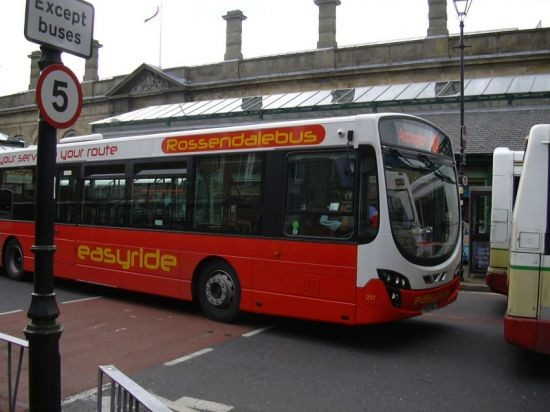 Accrington Bus Station