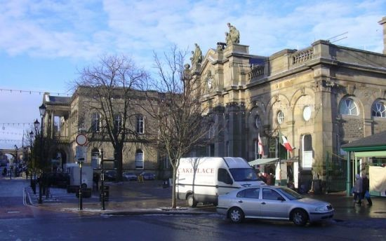 Accrington Town Hall and Market Hall