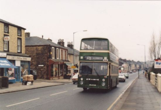 A Blackburn bus