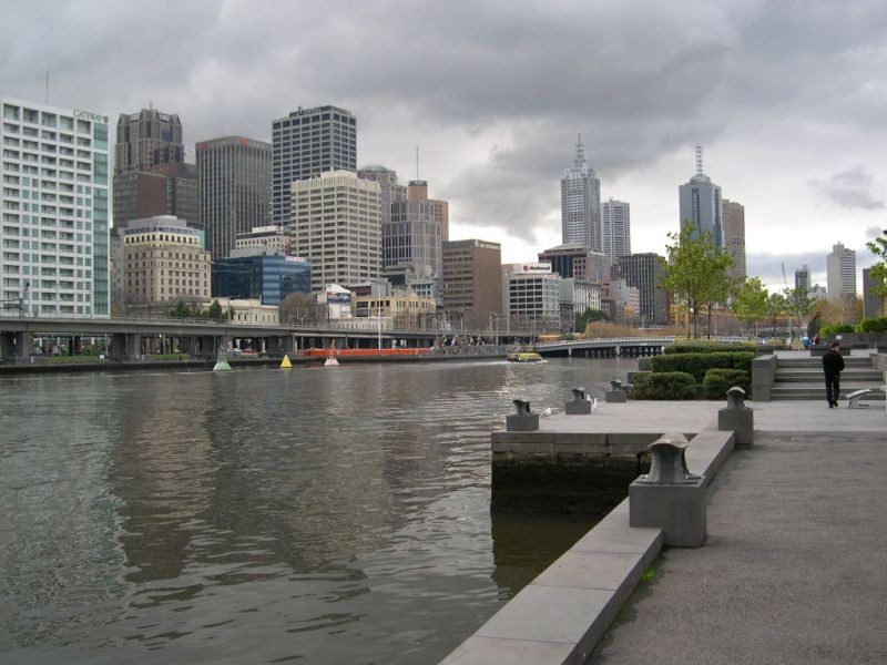 The River Yarra.