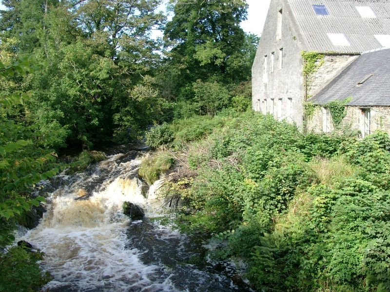 Islay Woolen mill on the river Sorn