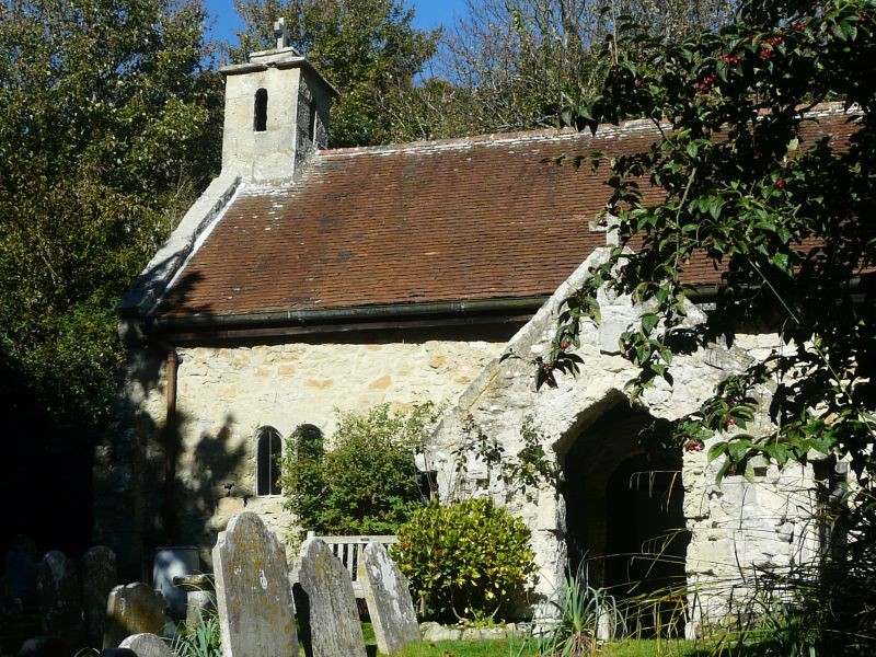 The Church of St Boniface, Bonchurch IOW