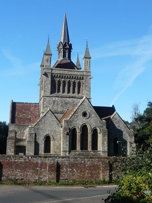 St Mildred's Church at Whippingham IOW