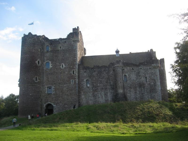 Doune Castle. Stirling