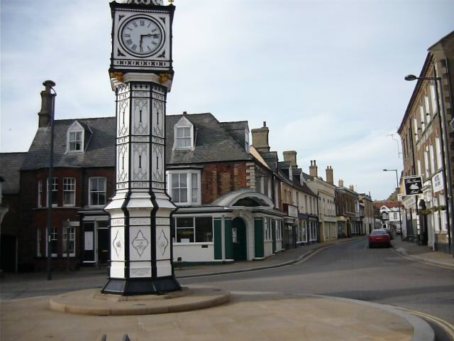 Downham Market town clock