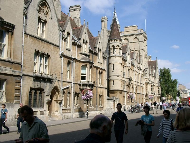Broad Street - Oxford England
