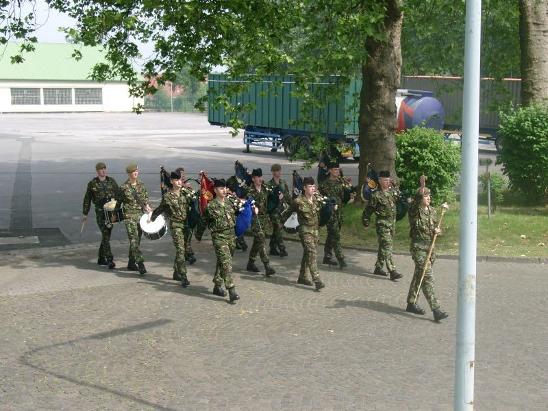 Pipes & Drums 1st Btn Scots Guards