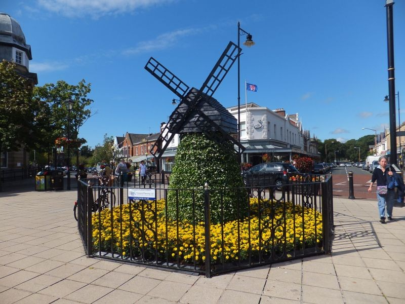 The Floral Windmill