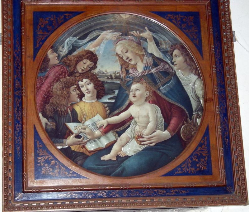 Picture in the church at Godshill Isle of Wight