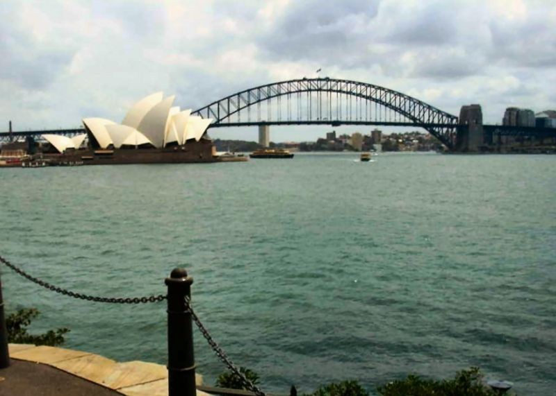 Two very recognisable landmarks.