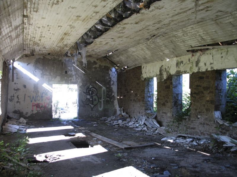 Paper Mill Ruins 1