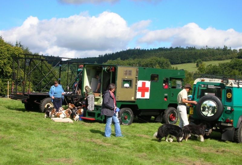 WW2  Red Cross Ambulance