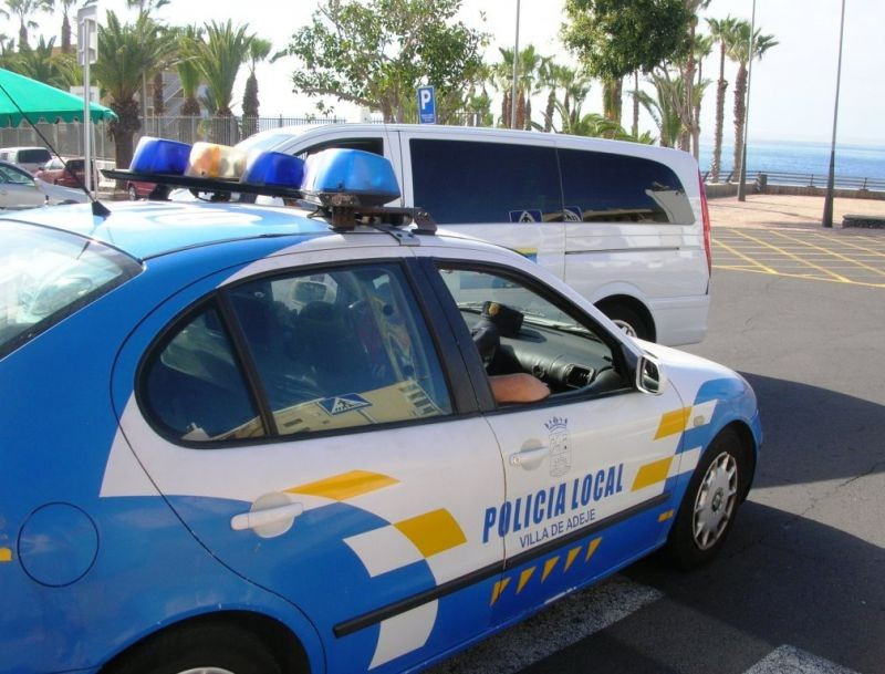 Local police in Tenerife