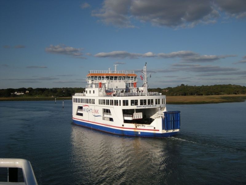 Isle of Wight Ferry .