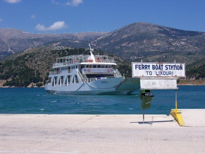 Ferry from Argostoli to Lixouri