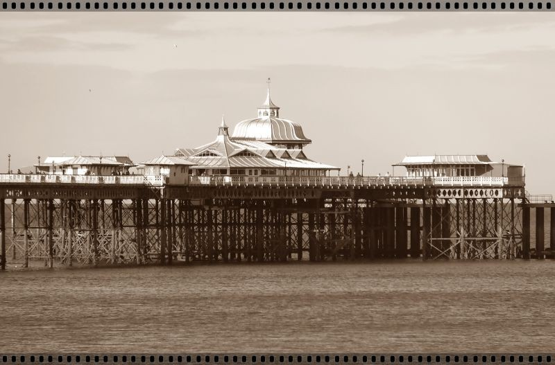 I am a bit like the pier......
