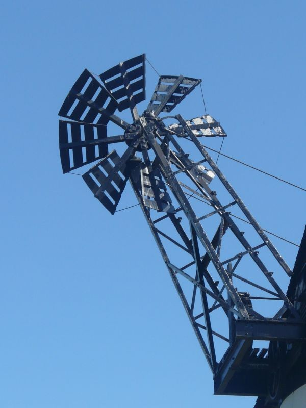 Section of the windmill