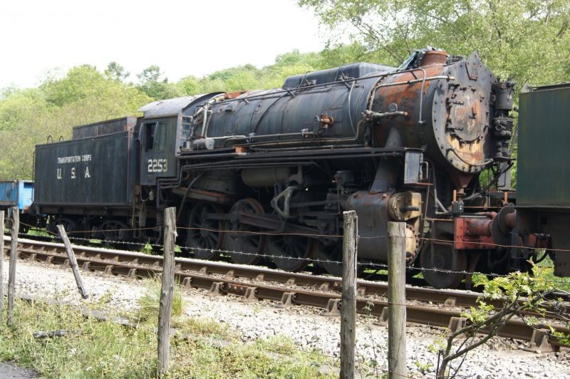 steam engine awaiting restoration
