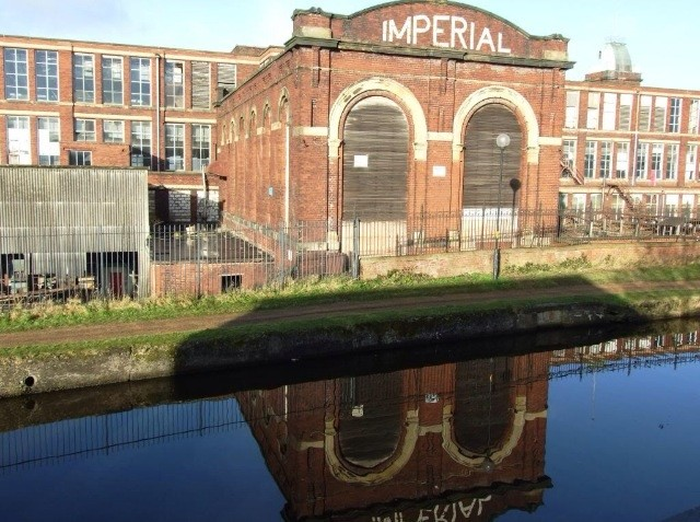 Imperial Mill reflection