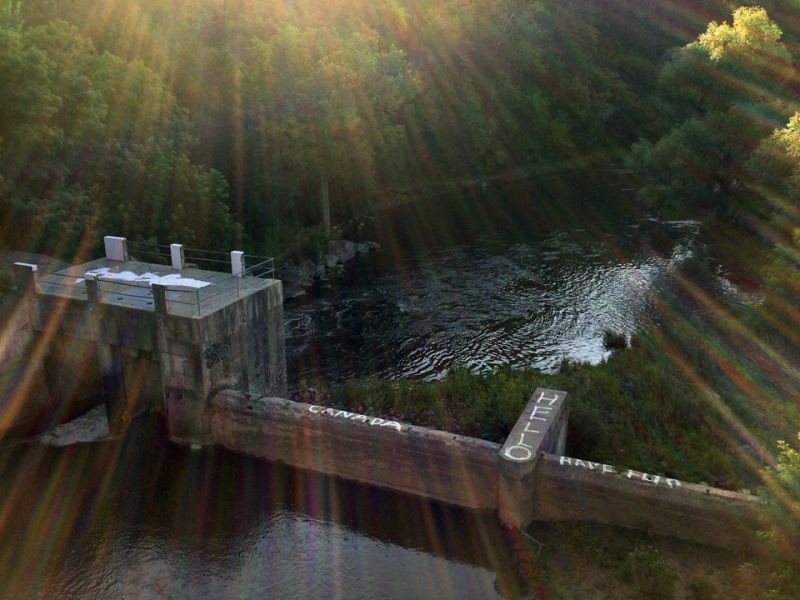 Old Dam over the Credit River
