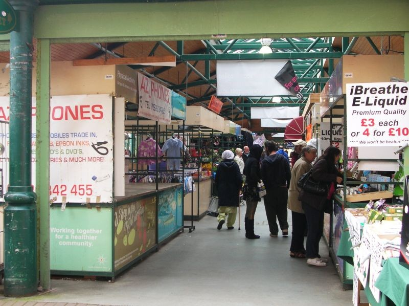Accy's new outdoor market