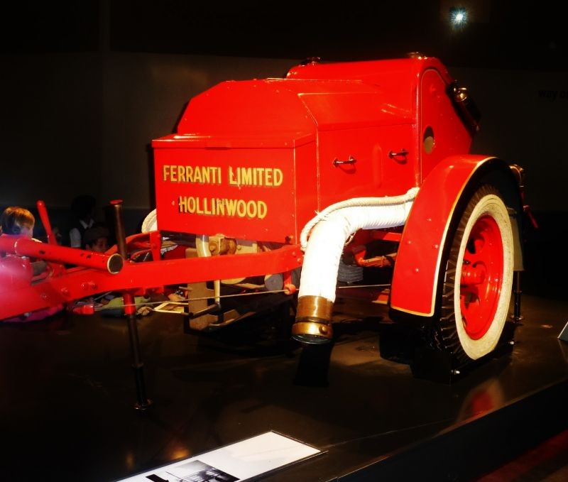 Red fire tender,  WW2
