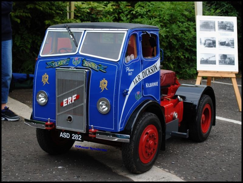 Little E.R.F lorry