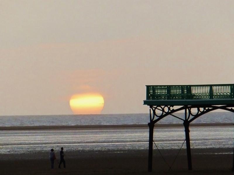 sundown at St Annes