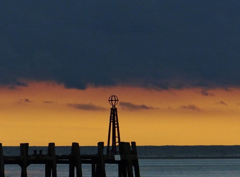 Moody sunset at St Annes