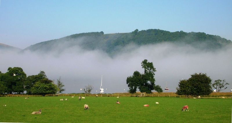 Low lying cloud