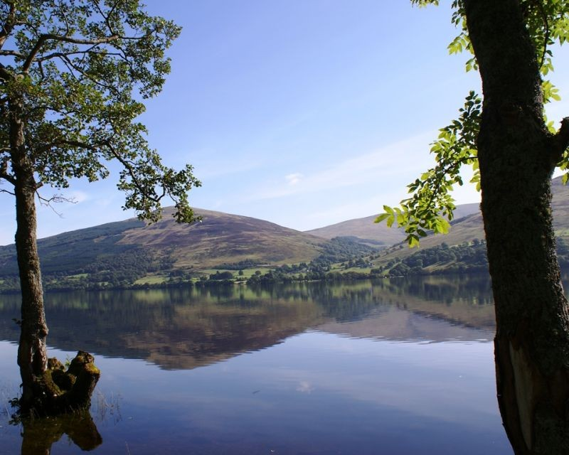 At the edge of Loch Tay