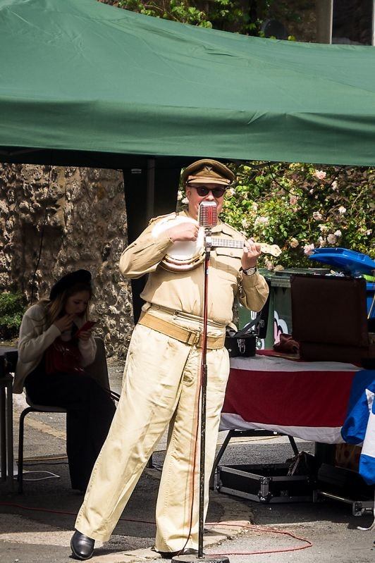 1940`s reenactment in Ingleton