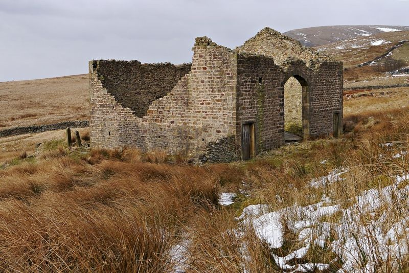 Ruined on Pendle.