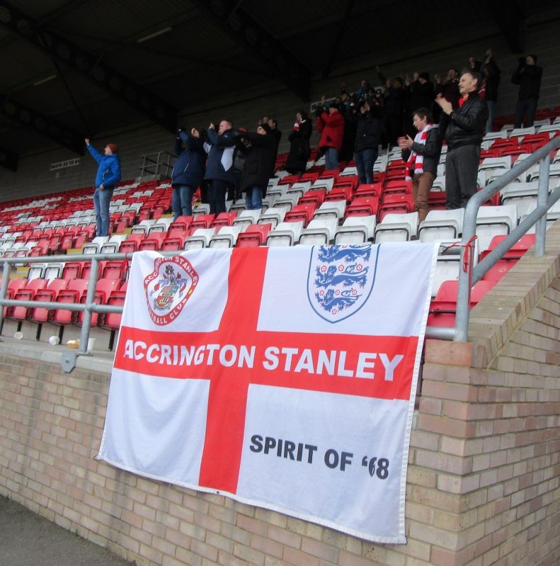Stanley Fans at Dagenham March 19th, 2016