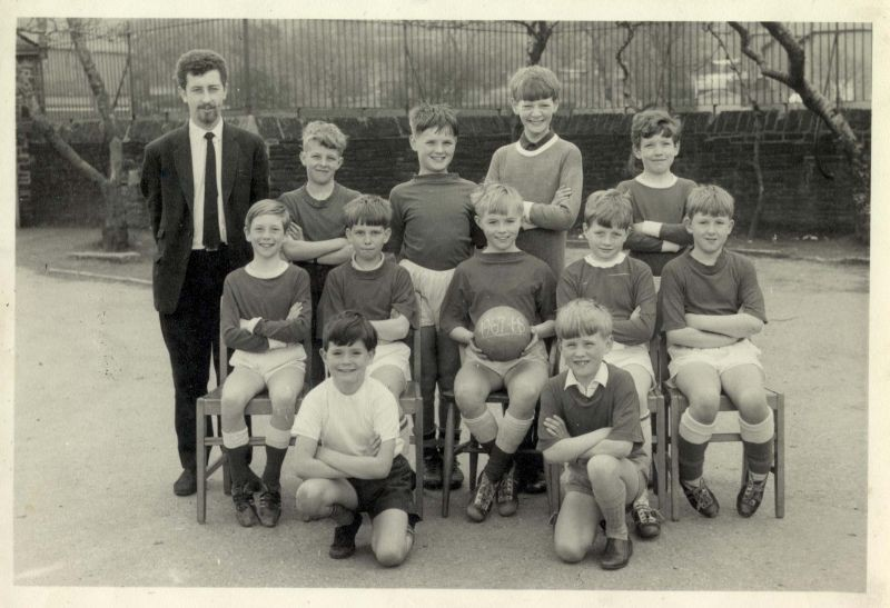 Peel Park Football Team 1967-68