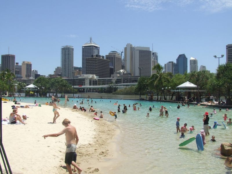 SOUTHBANK PARKLANDS BRISBANE