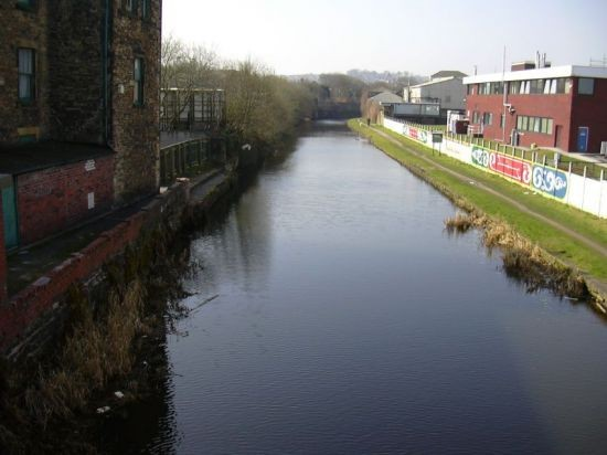 Leeds-Liverpool Canal at Bridge Street, Church