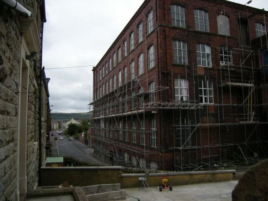 Demolition of Woodnook Mills